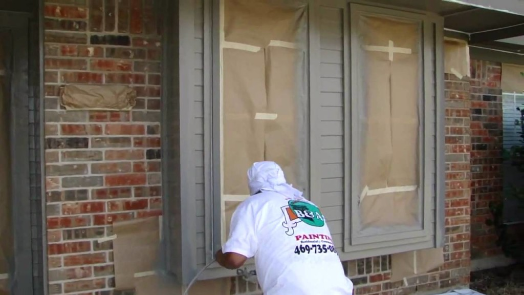 Exterior Painting | Dallas FT. Worth | Spay Painting | Exterior Painting Contractor | Exterior House