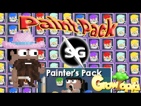 Growtopia Painter's Pack