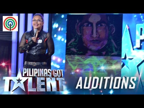 Pilipinas Got Talent Season 5 Auditions: Odette Cagandahan – Speed Painter