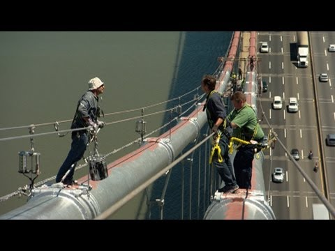 GW Bridge Painter: Dangerous Jobs
