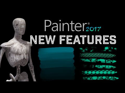 Corel Painter 2017 New Features! – #CorelPainter2017