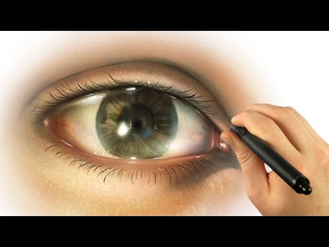 How to Draw a Realistic Eye DIGITALLY with Corel Painter – #DrawThis