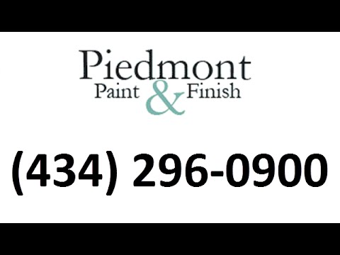 Painting Contractor Charlottesville VA » Piedmont Paint & Finish