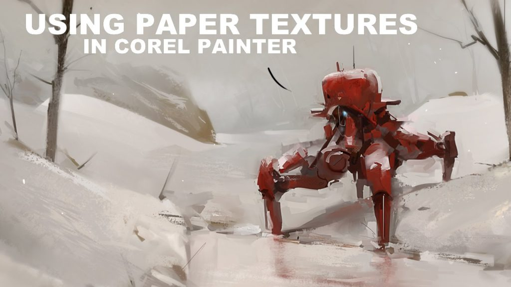 Using Paper Textures in Corel Painter