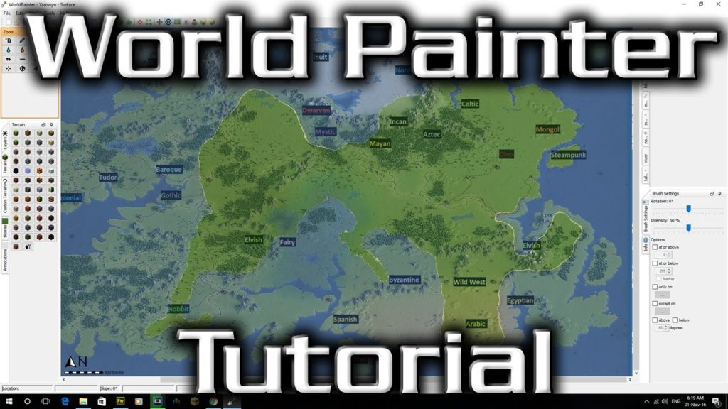 World Painter Tutorial – Creating a Map, Importing Images, Testing your map (Super Important!)