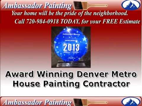 House Painting Denver | 720 984 0918 | Denver House Paint Contractor Ambassador Painting