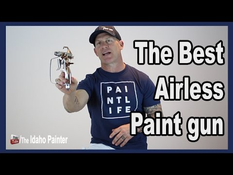 Graco Contractor Airless Spray Gun Review.  THE BEST PAINT GUN.