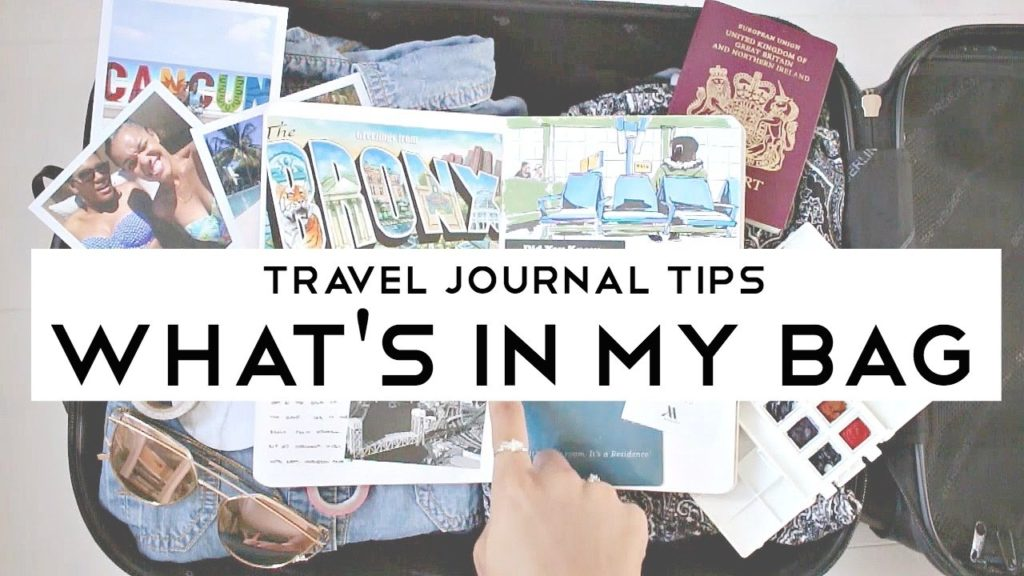 Travel Journal Tips #1 · What's in My Bag (ft. Portable Painter) · semiskimmedmin