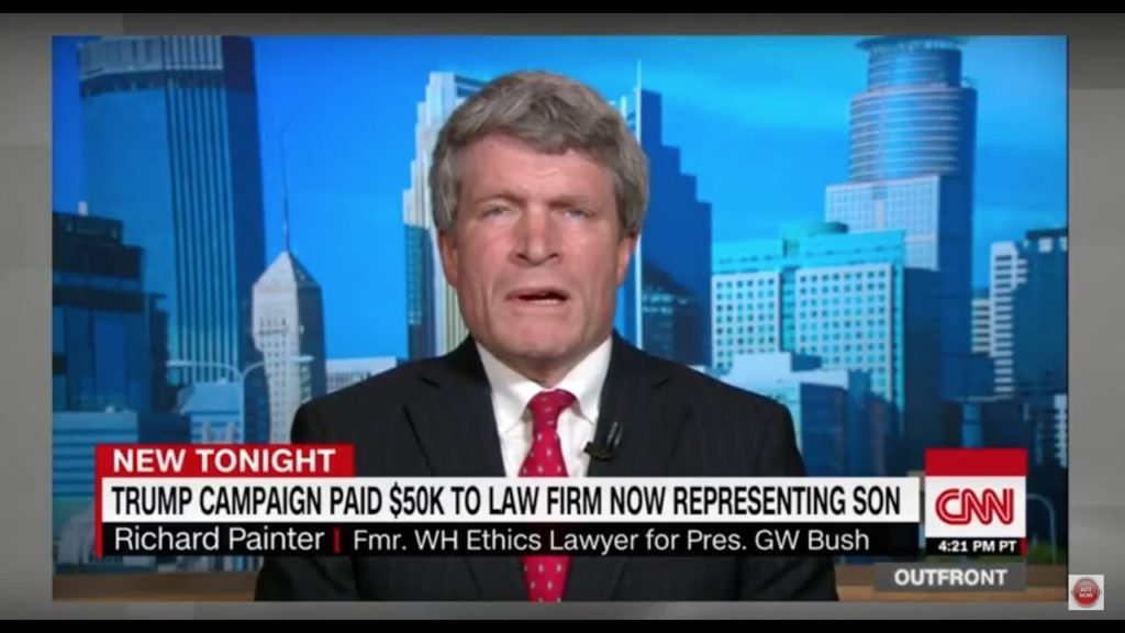 "Richard Painter's Epic RANT on Trump Jr's Russia Meeting, ""Trump is CORRUPT-THIS IS Quid Pro Quo"""