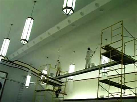 Paint Contractor Tampa Painting a Church