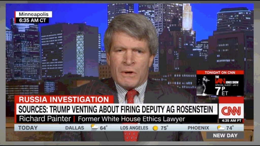"Richard Painter RlPS Jack Kingston's FACE 0FF, ""You Trump DEFENDERS are ALL A Bunch 0f SCÙMBÁGS"""
