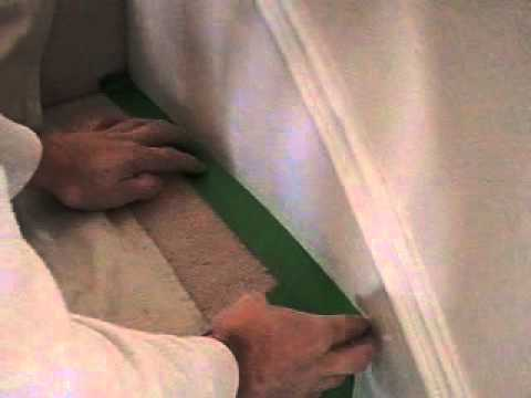 TJG Contractor Services, how to tape stairs when painting molding with a carpeted stairway. Y yt.MOD